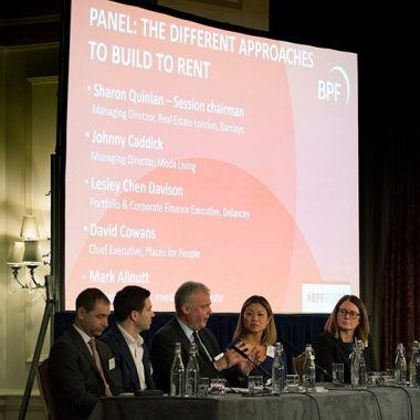 4876397799f31 Build to Rent (BTR) dominated much of the afternoon´s discussions at the  annual British Property Federation (BPR) Residential Conference, starting  with a ...