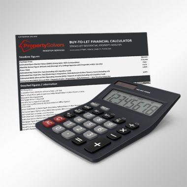 Buy to Let Financial Calculator