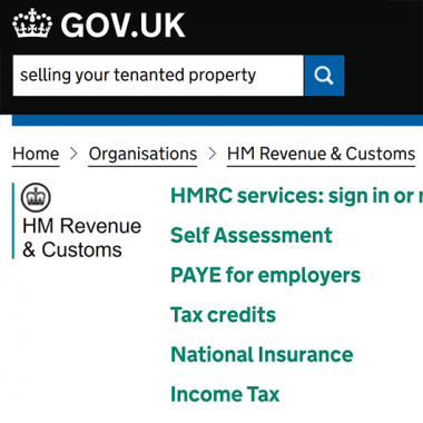 Selling Your Tenanted Property – Tax Implications